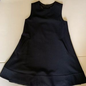 Theory babydoll black dress